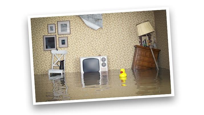 Waterschade beeld 1
